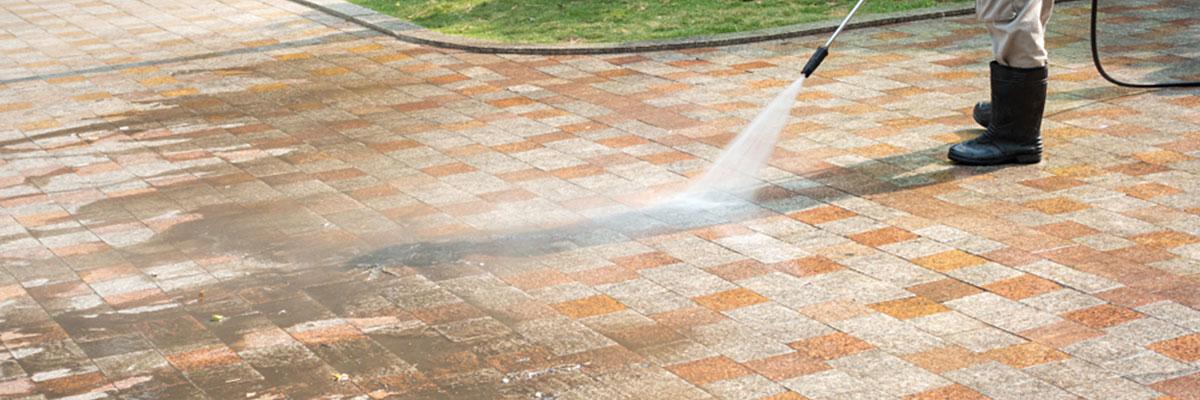 Concrete Paver Brick Cleaning