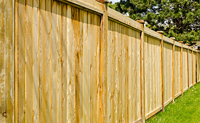 Power Wash Fence Cleaning